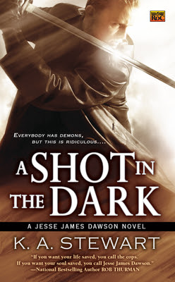Guest Blog:  The Dark Side of Research by K.A. Stewart and Giveaway - July 8, 2011