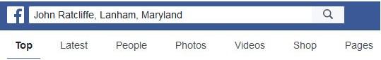 facebook search friends list