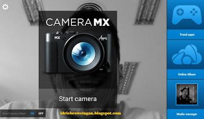 Fitur Aplikasi Camera MX Di Android