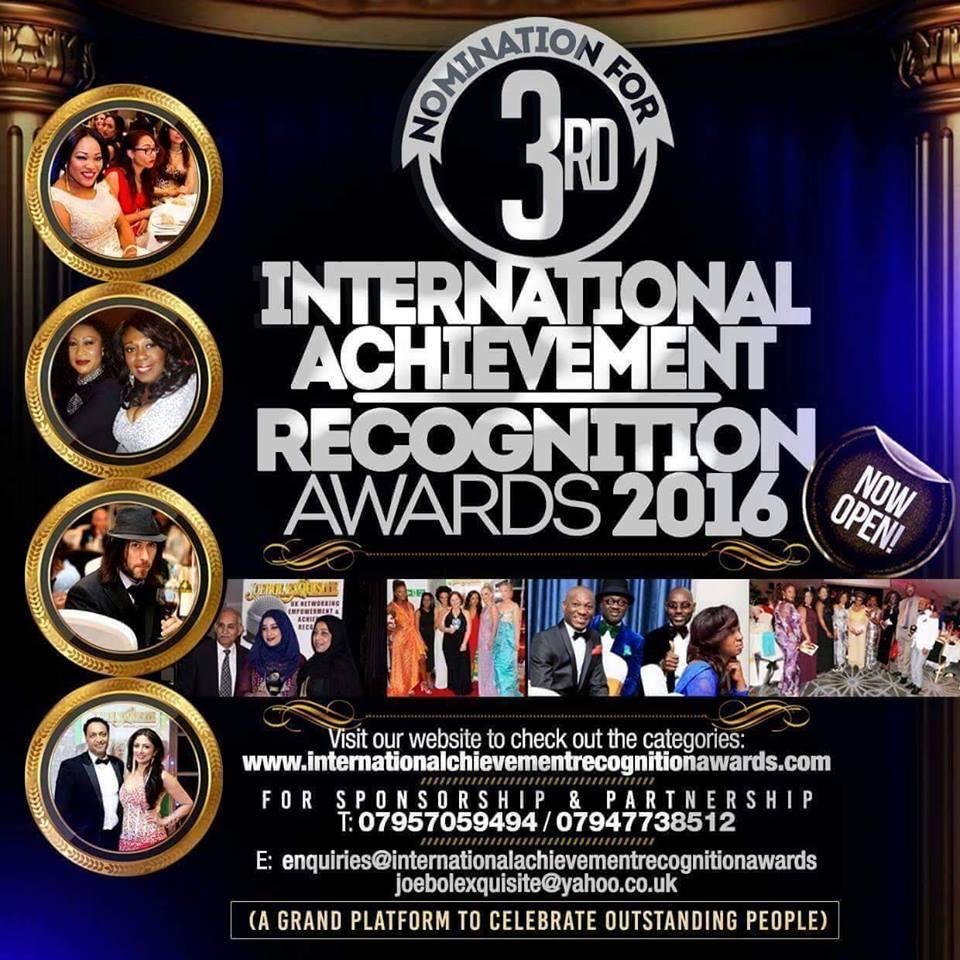 International Achievement Recognition Awards