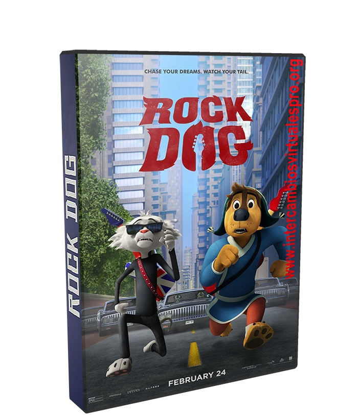 Rock Dog poster box cover