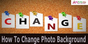 1 Click Me Kisi Bhi Photo Ka Background Change Kaise Kare - Like Dslr