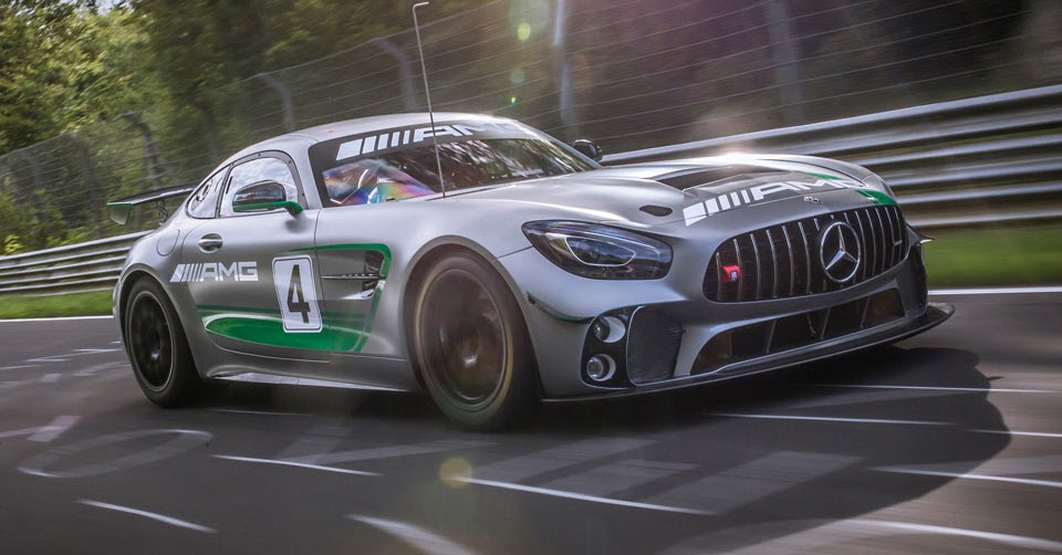 mercedes amg gt4 hits the 39 ring before racing debut. Black Bedroom Furniture Sets. Home Design Ideas
