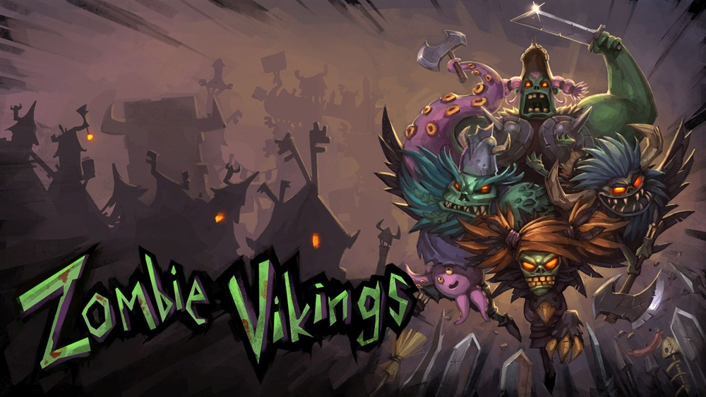Zombie Vikings Download Poster