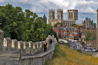 York City Walls England Great Britain