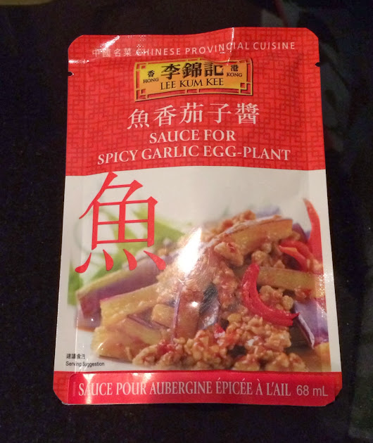 Review: Lee Kum Kee - Sauce for Spicy Garlic Eggplant