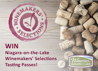 Win Two (2) Niagara-on-the-Lake Winemakers' Selections Tasting Passes