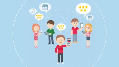 Tìm kiếm khách hàng qua ứng dụng