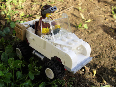 MOC LEGO Aventura de Sir David Attenborough