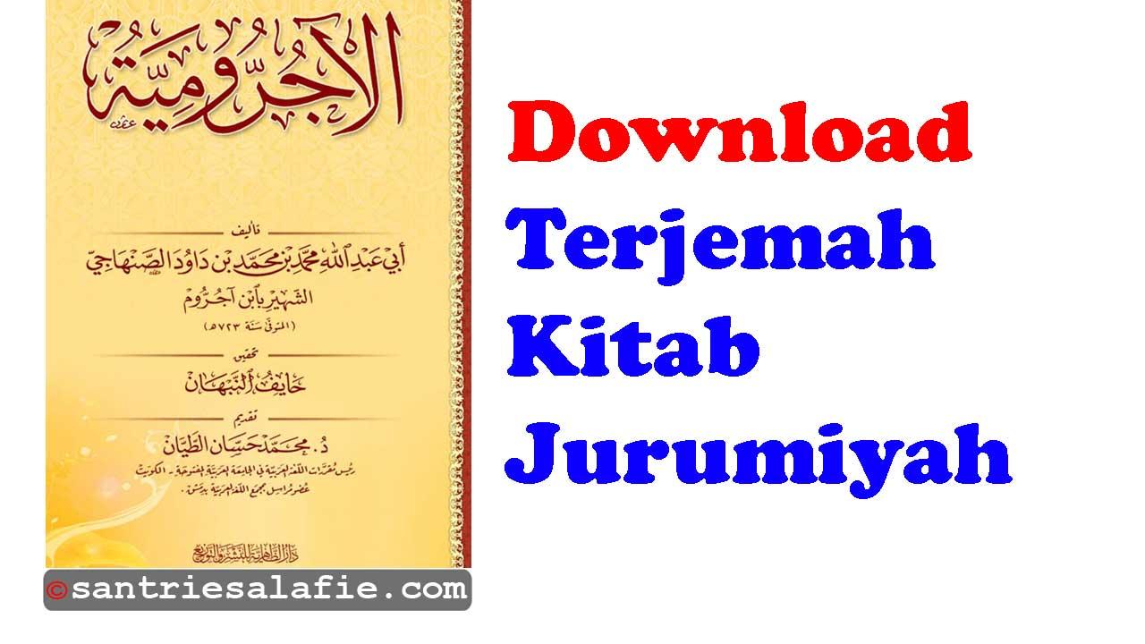 Download Terjemahan Kitab Jurumiyah PDF   Santrie Salafie