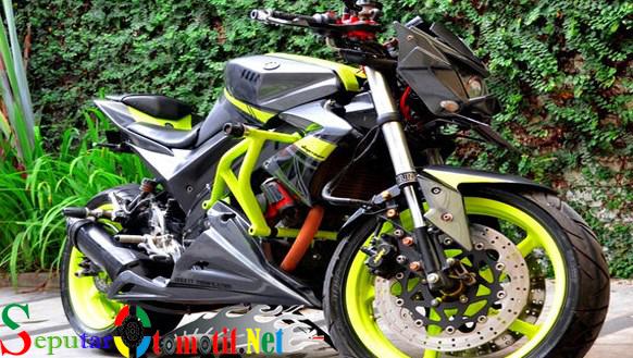 86 Modifikasi Yamaha Vixion Dengan Gaya Street Fighter