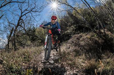 mountainbike touren gardasee nordost. monte baldo