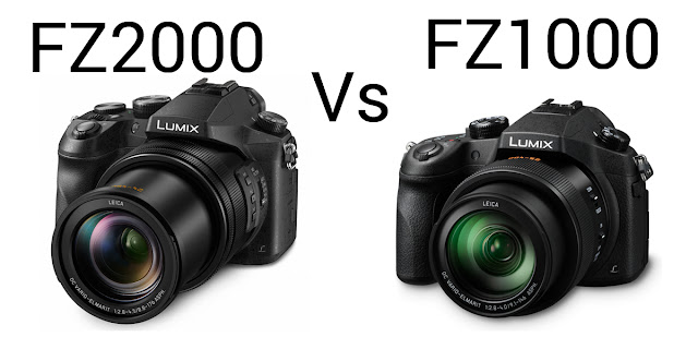 Panasonic FZ2000 vs FZ1000 Review Comparison