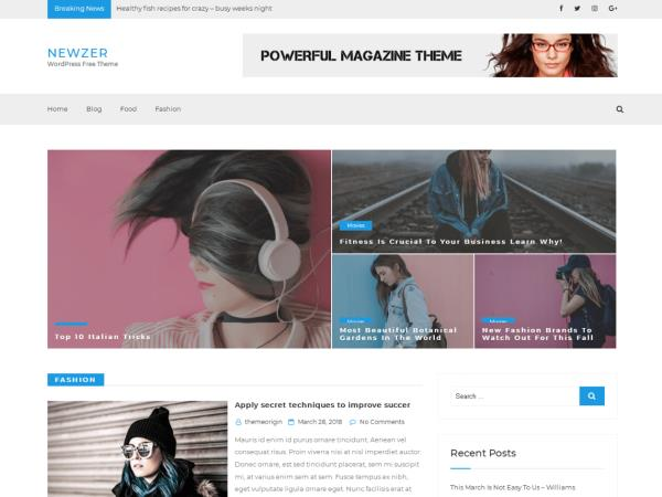 Newzer WordPress Theme