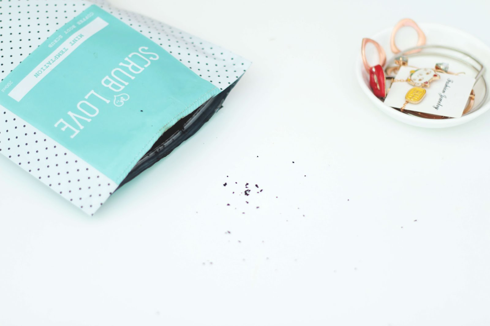 scrubLove mint temptation coffee scrub review