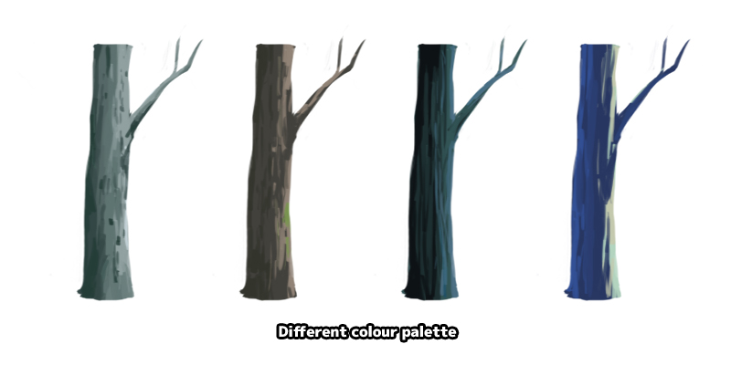 tree colours