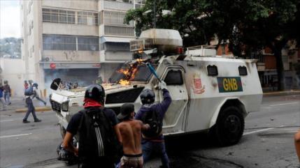 Marcha violenta de derecha deja otro ciudadano venezolano muerto