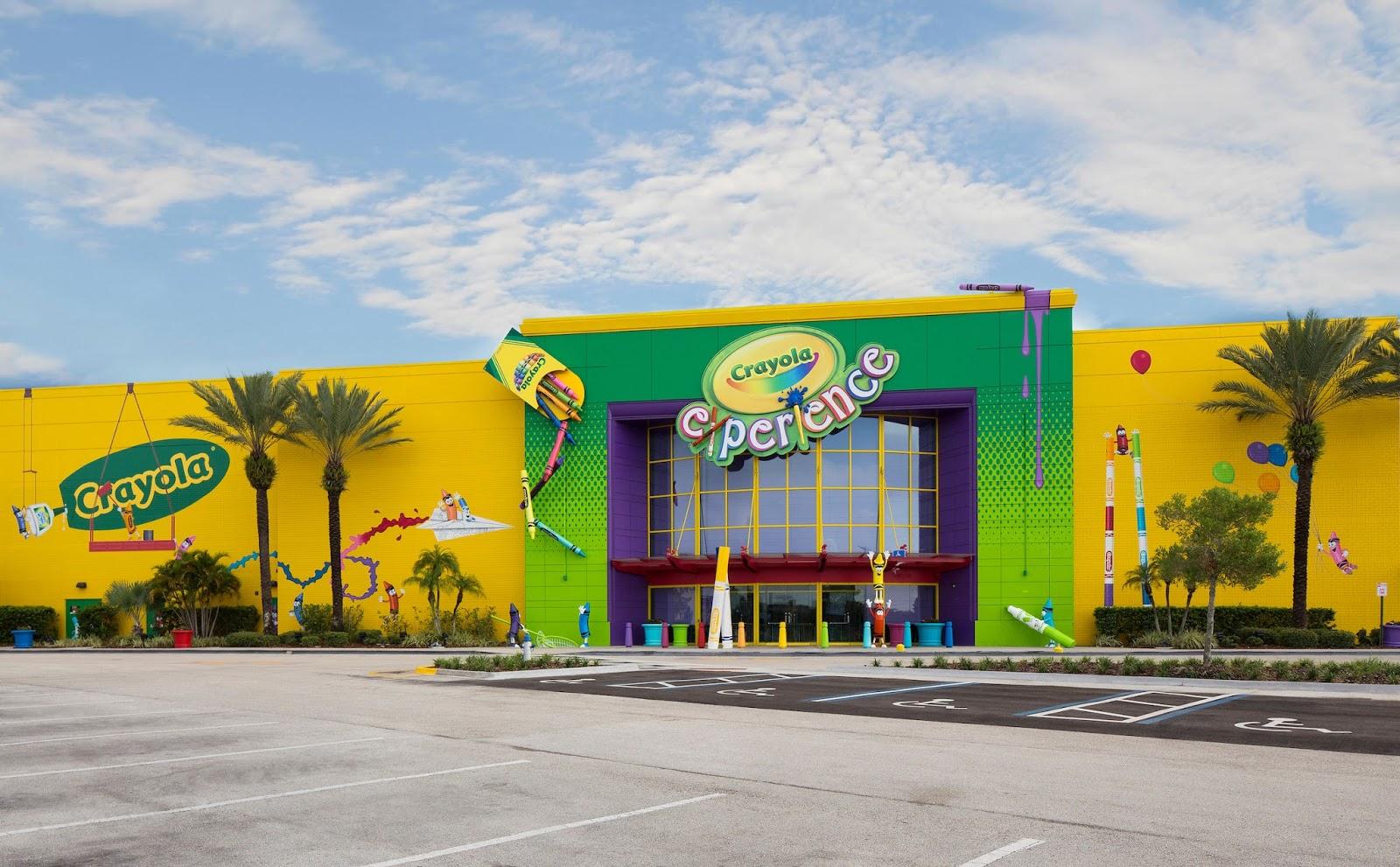 Crayola Experience Orlando Review | Jenny\'s Crayon Collection