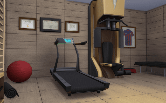 fitness Sims 4