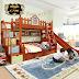 phòng ngủ đẹp và xinh với 3 mẫu giường tầng cao cấp cho bé