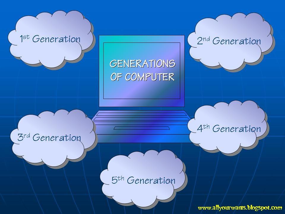 Cool Stuff Generations Of Computer