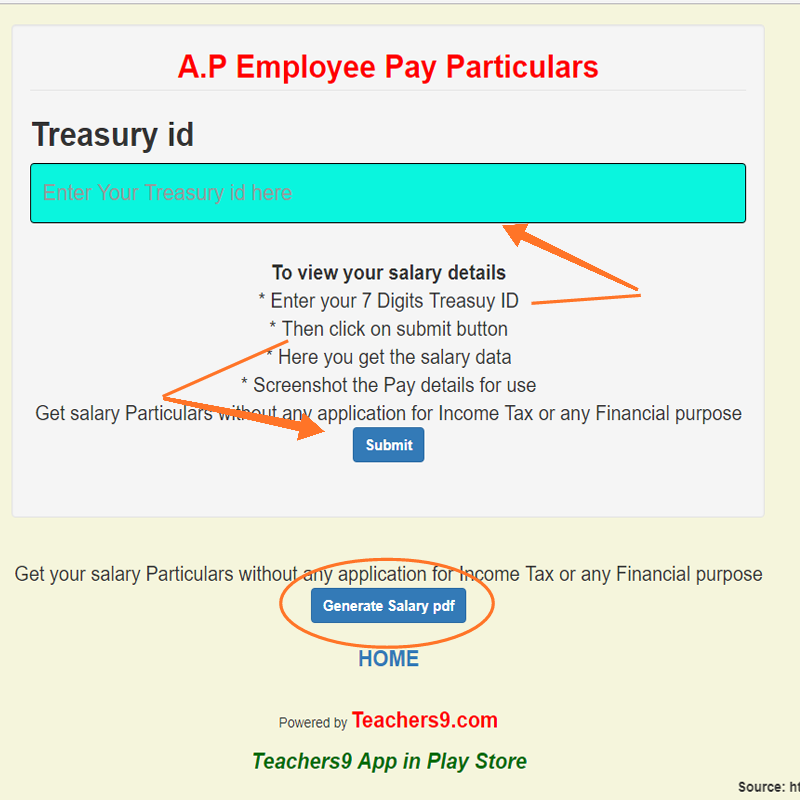 Know your Complete Salary/Pay particulars and family members health card status here