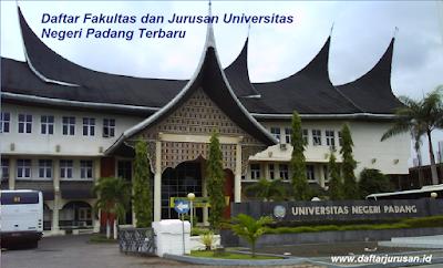 Daftar Fakultas dan Jurusan UNP Universitas Negeri Padang Terbaru