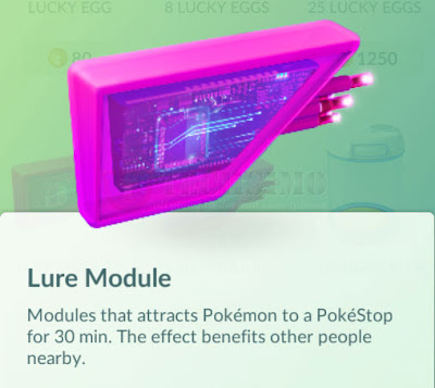 lure module pokemon go