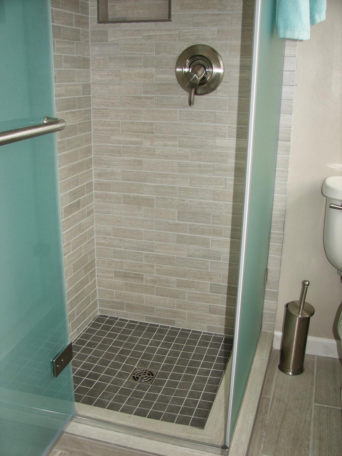 Leonia Silver Tile Bathroom  1500 Trend Home Design