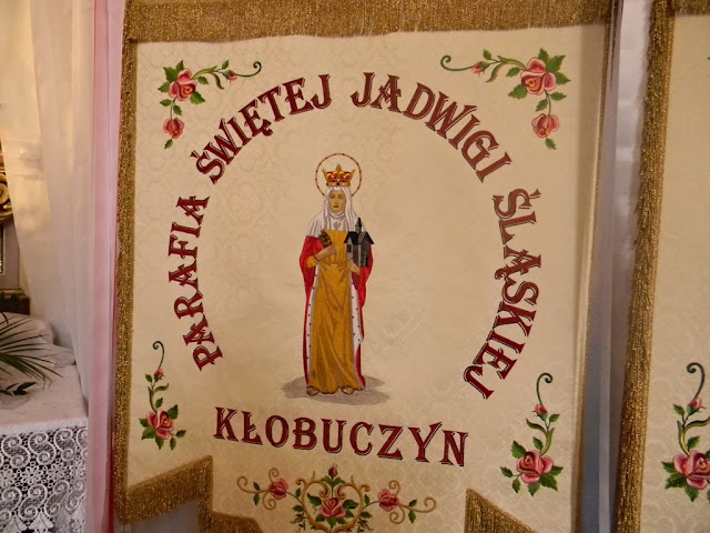 Parafia Świętej Jadwigi Kłobuczyn.
