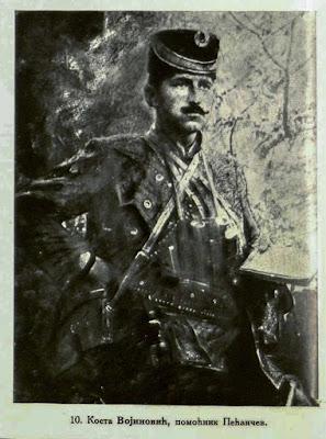 Kosta Vojinovic, Chief assistant of Pecanac