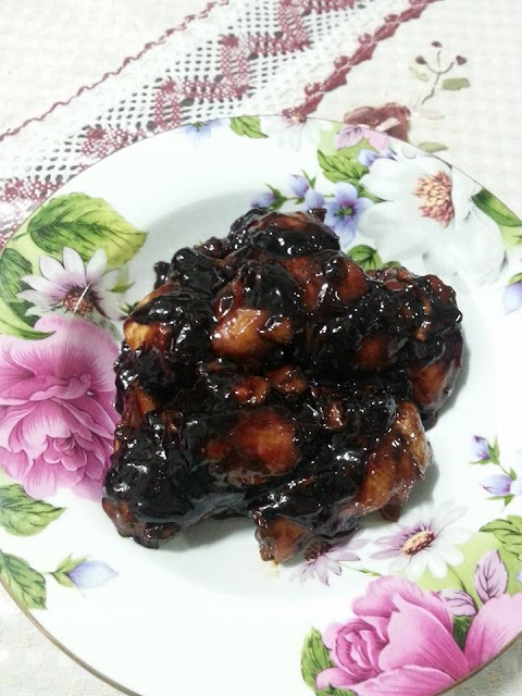 Sticky Caramel Chicken