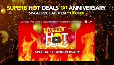 Super Hot Deals 1st Anniversary - Blibli
