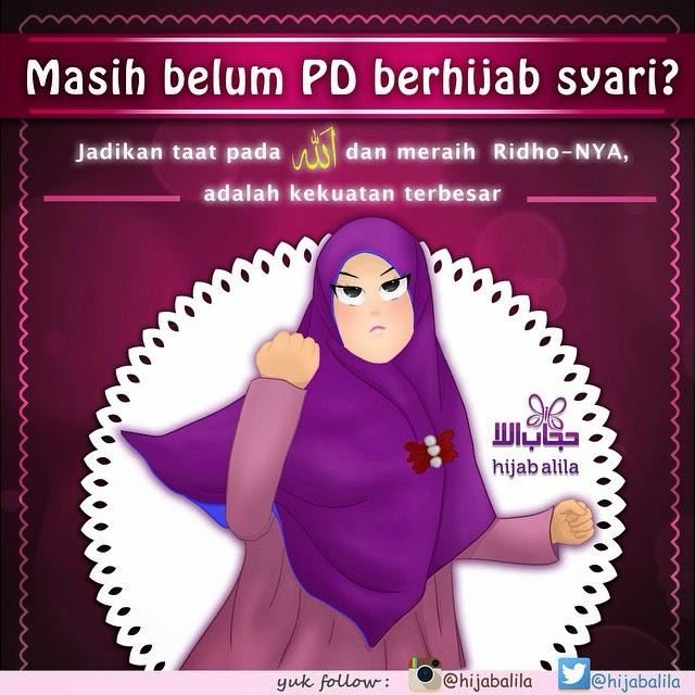 gambar dp bbm jilbab syar'i