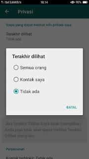 Untuk mencegah mantan kau stalking whatsapp kau dan spam chat dari orang Biar gak di Stalk Mantan, Baca Tips Mengamankan Whatsapp Kamu