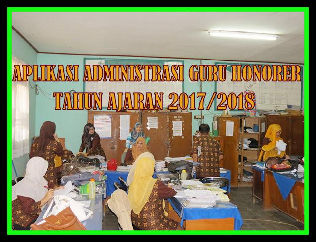 Aplikasi Administrasi Guru Honorer Tahun Ajaran 2017/2018