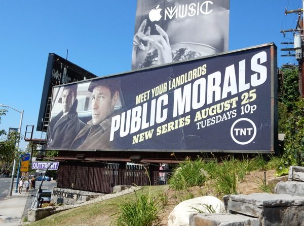 Public Morals season 1 billboard