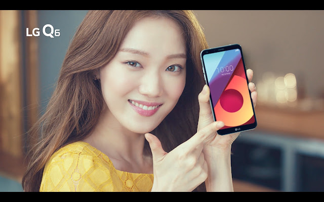 Lee Sung Kyung Shows the Magic of LG Q6