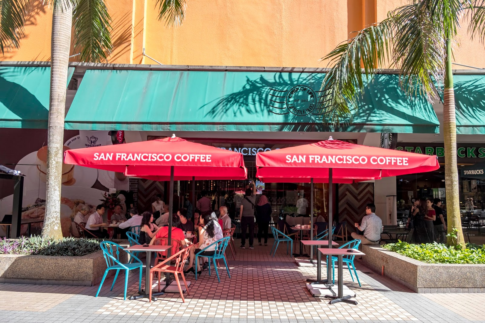 San Francisco Coffee is finally in Gurney Plaza Penang!