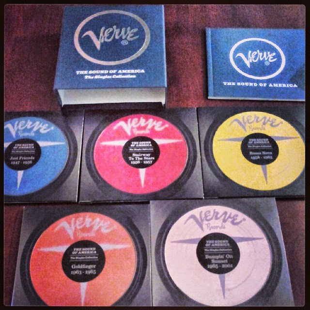 Verve, The Sound of America, The Singles Collection