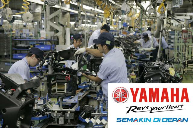 Lowongan Kerja PT Yamaha Indonesia Motor Manufacturing Dengan Posisi Operator Manufacturing, Administrasi Staff, Etc Lulusan SMA, SMK, D3, S1 Terbaru 2019
