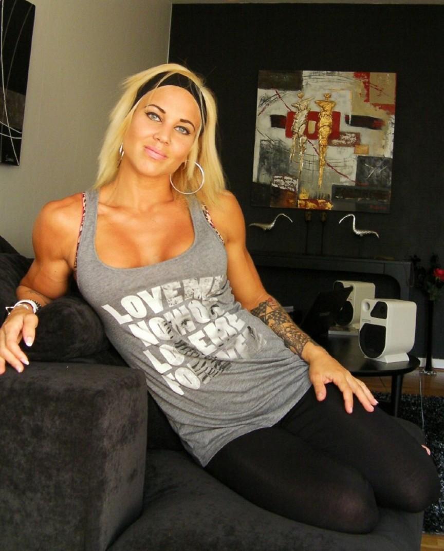 Heidi Vuorela Sexiest Female Bodybuilders