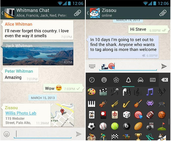 WhatsApp Messenger v2.12.476 Apk