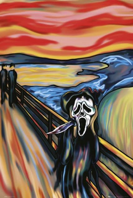 El grito de Munch - Versión Scream