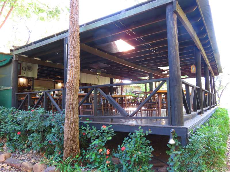 El Questro Station restaurant