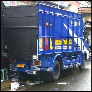 modifikasi audio truk canter modifikasi bak truk canter