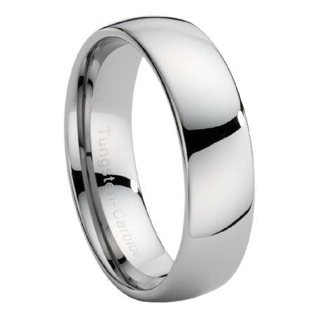 We Chose A Tungsten Ring And I Was Thrilled When It Arrived Did Not Tell My Husband Coming So He Would Be Surprised Gave To Him