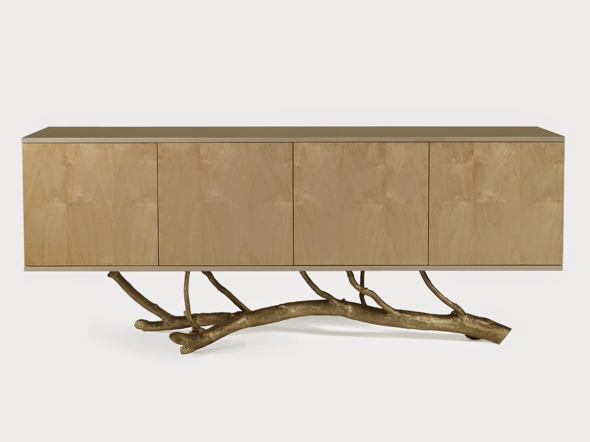 Darya Girina Interior Design Branches And Trunks In