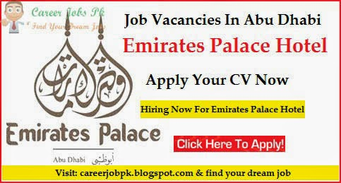 Emirates Palace Hotel Abu Dhabi Job