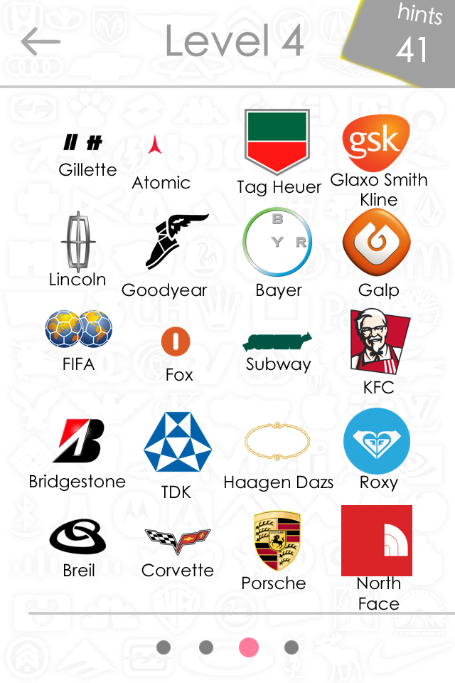 Level 4 Logos Quiz Game Answers For Iphone, Ipad, Ipod ...